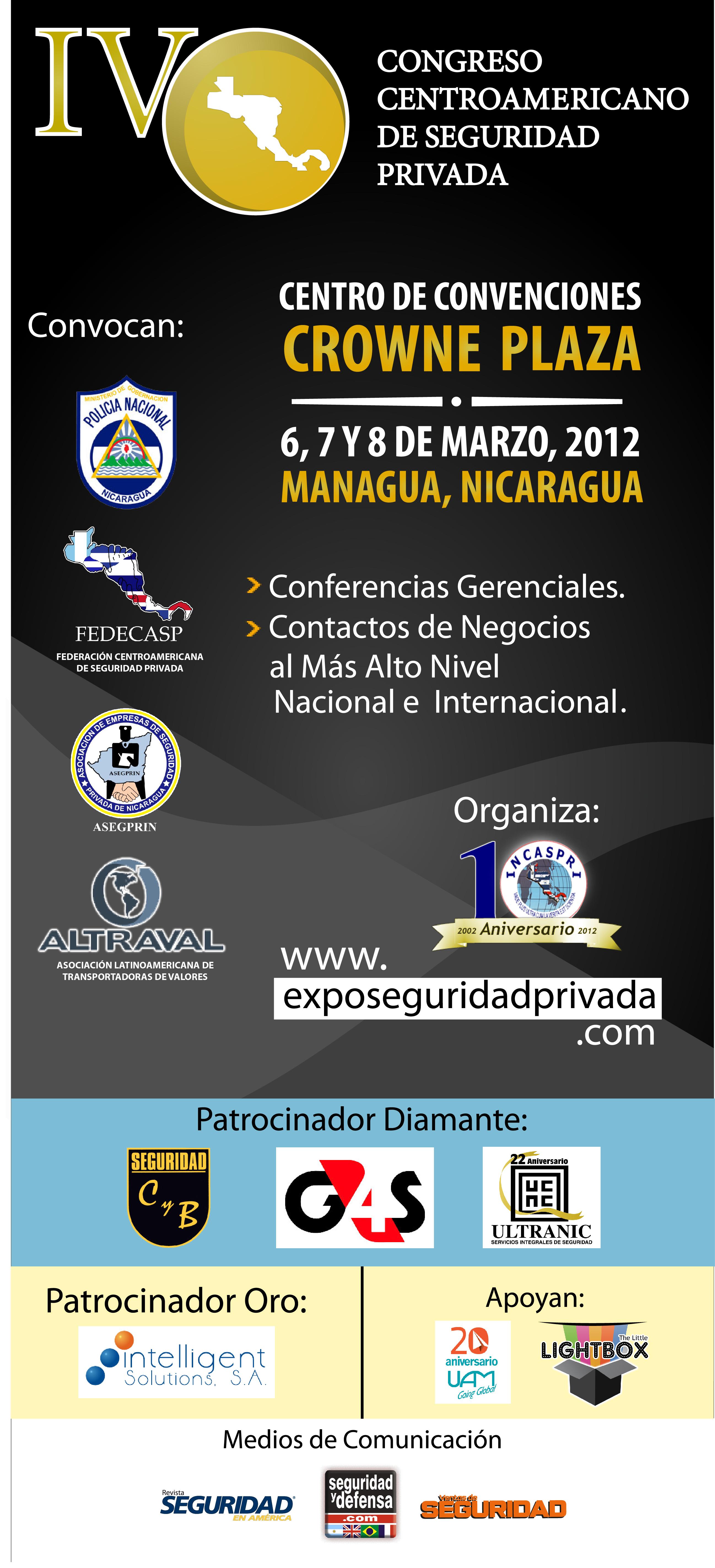 IV CONGRESO CENTRO AMERICA