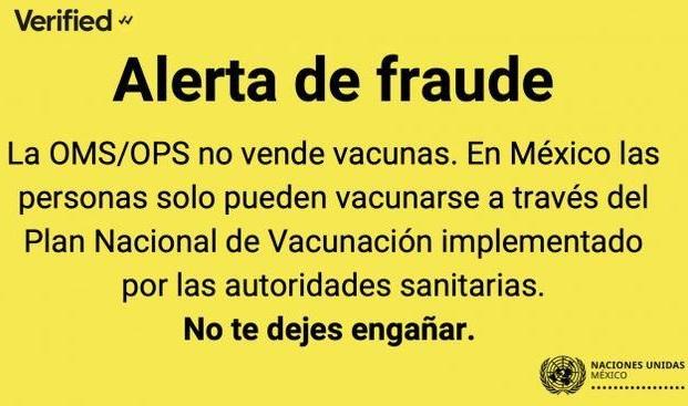 MX: ¿venta ilegal de vacunas?