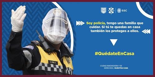 COVID-19 porfa QUEDATE EN CASA