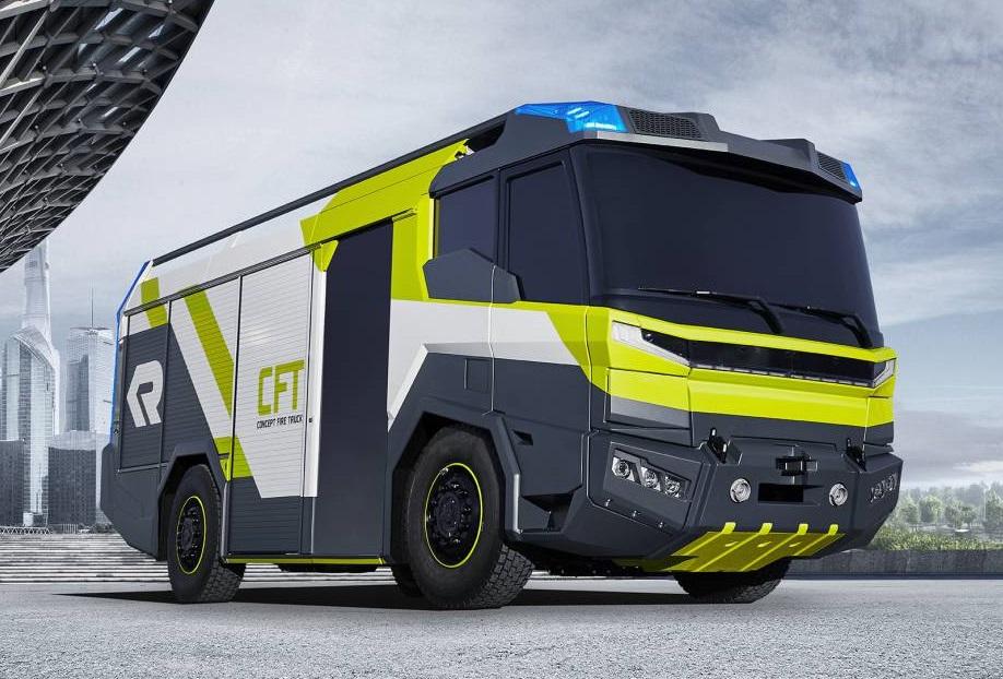 Primer camión de bomberos eléctrico